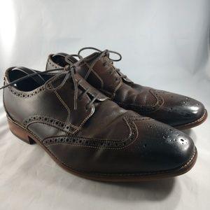Florsheim  Brown Men's Wing Tip Oxford Shoes 11 3E